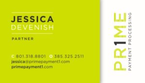 Jessica Devenish Business Card